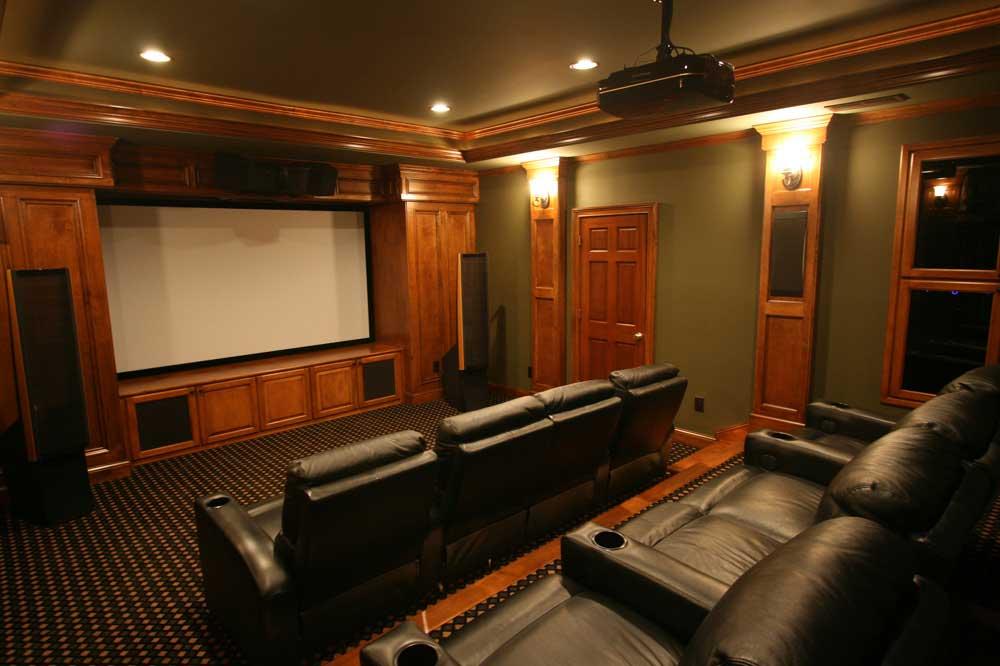 Den Movie Room Ideas